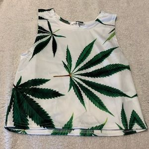 Tops - Brand New Cropped Halter Top